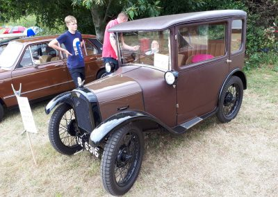 Austin Severn 1928 at Winterton Show 2018